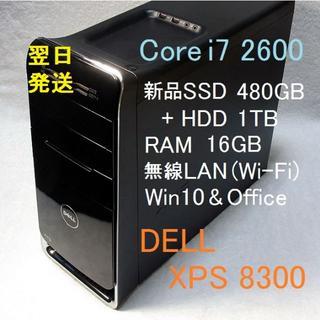 DELL - i7-2600 メモリ16GB 新品SSD480GB+HDD1TB 無線LAN
