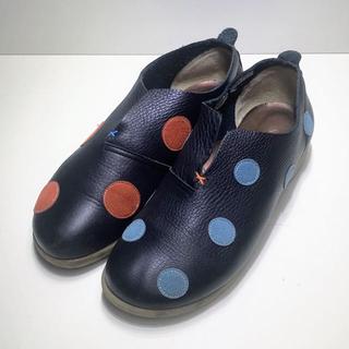 【 訳あり 】Sinzi Katoh  /  アシンメトリーシューズ(ローファー/革靴)