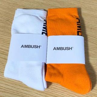 AMBUSH - AMBUSH ソックス アンブッシュ 靴下 2セット