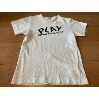 コムデギャルソン(COMME des GARCONS)のPLAY comme des garcons  プレイコムデギャルソンTシャツ (Tシャツ(半袖/袖なし))