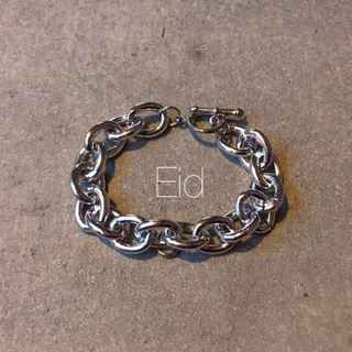 TODAYFUL - Plane chain silver bracelet No.29