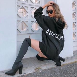 ALEXIA STAM - anelatokyo♡BIG Dolman hoodie