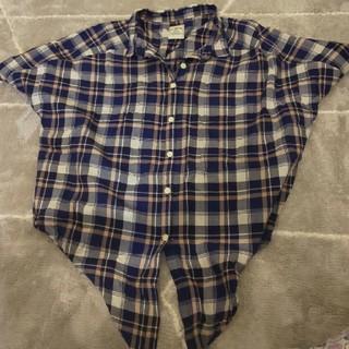 ディスコート(Discoat)のチェックシャツ(シャツ/ブラウス(半袖/袖なし))