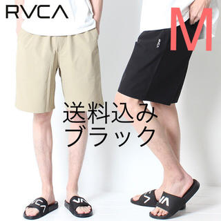0d8b7c6ddefe91 ルーカ(RVCA)の【M】RVCA ルーカ SMALL NEW WORLD SHORTS ブラック(