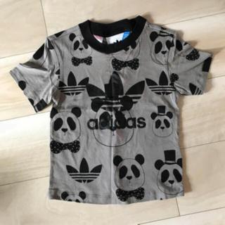 adidas - 値下げ美品☆アディダス✖️ミニロディー二☆パンダ トレフォイルTシャツ☆120