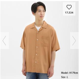 GU - オープンカラーシャツ L