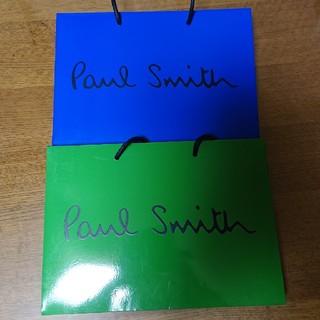 ポールスミス(Paul Smith)のポール・スミス 手提げ袋2枚+プレゼントケース(ショップ袋)