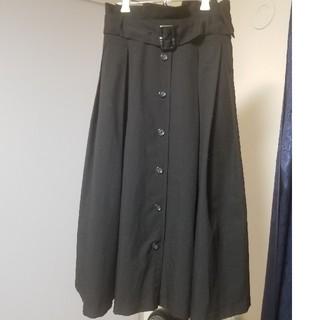 INGNI - INGNI トレンチスカート ブラック