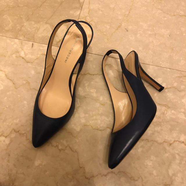 FABIO RUSCONI(ファビオルスコーニ)のFABIO RUSCONI ファビオルスコーニ バックストラップ パンプス レディースの靴/シューズ(ハイヒール/パンプス)の商品写真