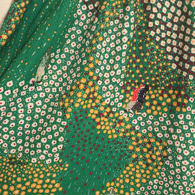 TSUMORI CHISATO(ツモリチサト)のツモリチサト 美品 花柄 ミモレ丈 スカート レディースのスカート(ひざ丈スカート)の商品写真