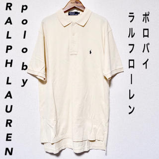 Ralph Lauren - 30%OFF!【polo by RALPH LAUREN】ポロシャツ ベージュ