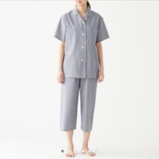 ムジルシリョウヒン(MUJI (無印良品))の脇に縫い目のない サッカー織り 半袖パジャマ・婦人S(パジャマ)