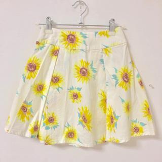 repipi armario - 美品*ひまわり柄スカート