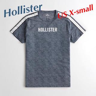 ホリスター(Hollister)の新品★ ホリスター ストライプ ロゴグラフィック 半袖Tシャツ(Tシャツ/カットソー(半袖/袖なし))