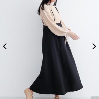 メルロー(merlot)のメルロー サス付きスカート(ロングスカート)