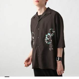 ハレ(HARE)のシシュウカイキンシャツ HARE 刺繍(シャツ)