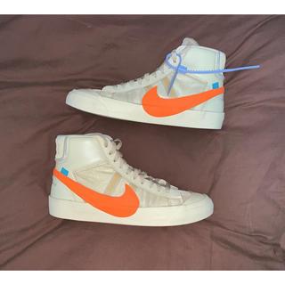 NIKE - Off-White Nike Blazer Mid The Ten