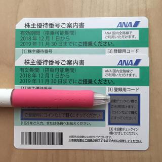ANA(全日本空輸) - ANA株主優待券 2枚とクーポン