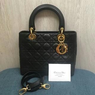 極美品 Dior レディディオール 2wayバッグ