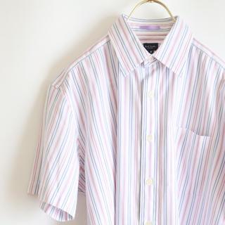 ポールスミス(Paul Smith)の【PAUL SMITH】半袖シャツ ビジネス ドレス☆(シャツ)