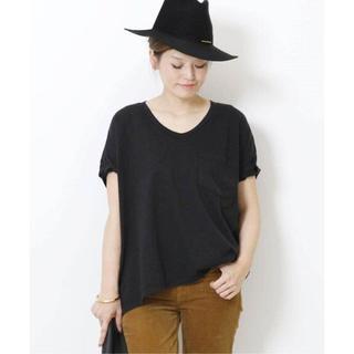 DEUXIEME CLASSE - 新品 SKARGORN ポケツキワイドTシャツ ブラック