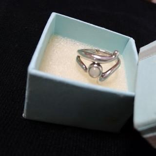 silver 指輪 リング デザイン ウェーブ 波 6号 7号(リング(指輪))