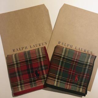 Ralph Lauren - Ralph Lauren ハンカチ2枚セット 送料無料 ラルフローレン