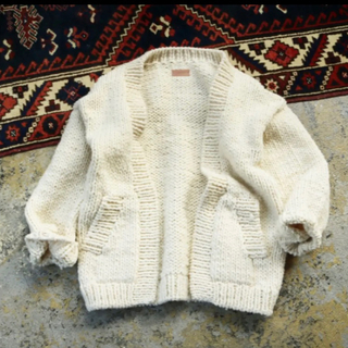 TODAYFUL - タグ付試着のみ*todayful  Hand Knit Cardigan/36