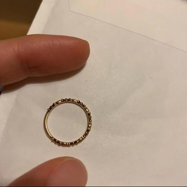 agete(アガット)の【最終価格】 agete アガット ピンキー リング レディースのアクセサリー(リング(指輪))の商品写真