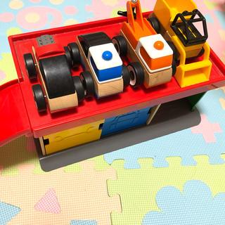 イケア(IKEA)のIKEA LILLABO リラブー 木のおもちゃ 車 イケア(電車のおもちゃ/車)
