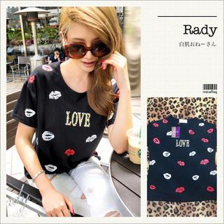 Rady - Rady♡LOVEリップTシャツ