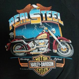 ハーレーダビッドソン(Harley Davidson)のハーレーダビッドソン スエット M ブラック MADE IN USA (スウェット)