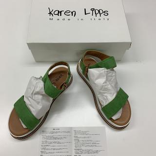 ローズバッド(ROSE BUD)の新品 Karen LIPPS カレンリップス プラットフォーム サンダル(サンダル)