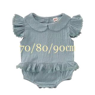 babyGAP - ロンパース (グリーン)70/80/90㎝