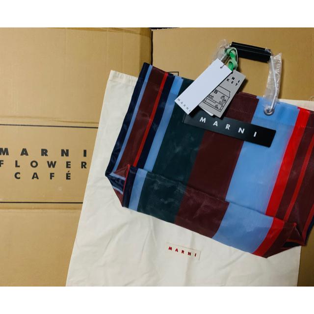 Marni(マルニ)の[未使用]マルニストライプバック レディースのバッグ(トートバッグ)の商品写真