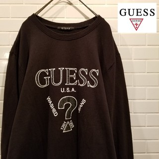 GUESS - 【GUESS】 ゲス ビックロゴ スウェット Lサイズ