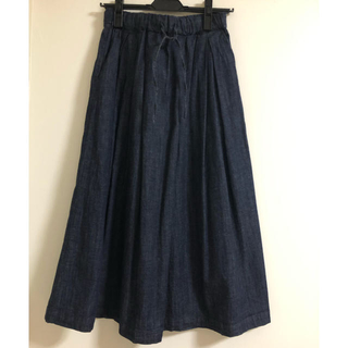 MUJI (無印良品) - 新品タグ付 MUJI 無印良品 イージーギャザースカート