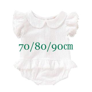 babyGAP - ロンパース (白)70/80/90㎝