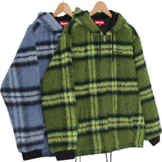 Supreme - supreme. mohair hooded work jacket