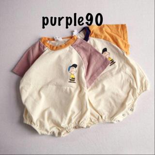 【新品】Tシャツロンパース  90 チャーリーブラウン  ベビー☆韓国子供服