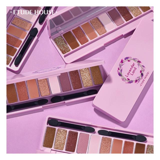 ETUDE HOUSE(エチュードハウス)のまなみさま◆エチュード*プレイカラー アイシャドウ ラベンダーランド コスメ/美容のベースメイク/化粧品(アイシャドウ)の商品写真
