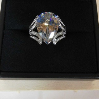大きな水晶ファッションリング(リング(指輪))