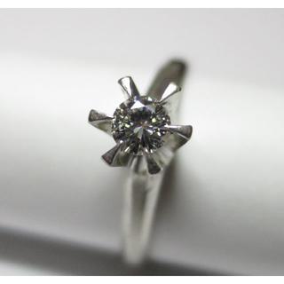 ダイヤモンドリング(立て爪1石リング)(リング(指輪))