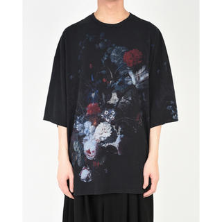 19ss LAD MUSICIAN 花柄 SUPER BIG T-SHIRT
