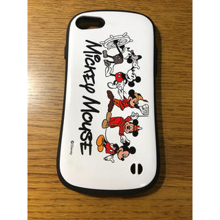 Disney - iFace for iPhone8/7  ディズニー ミッキーマウス