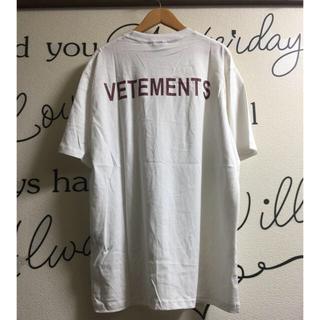 Balenciaga - ⚠️訳あり⚠️VETEMENTS Tシャツ メンズ★バレンシアガ 姉妹ブランド