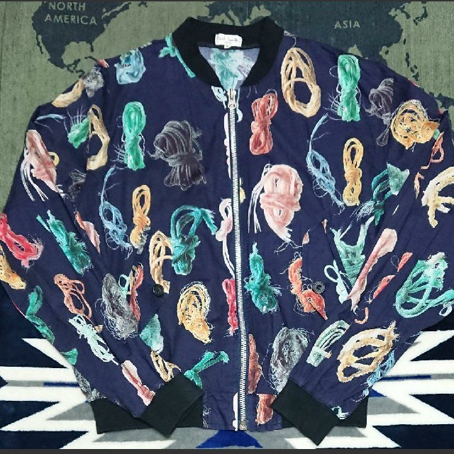 Paul Smith(ポールスミス)の最終限界気持ち値下即決を早い者勝ちポール・スミス(薄手プリントブルドン) メンズのジャケット/アウター(ブルゾン)の商品写真