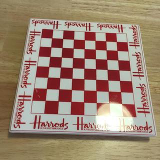 ハロッズ(Harrods)の英国 ハロッズ 鍋敷き(収納/キッチン雑貨)