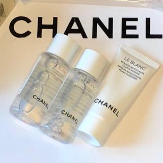 CHANEL - 未使用 シャネル  ル  ブラン 2種類  3点セット( サンプル )