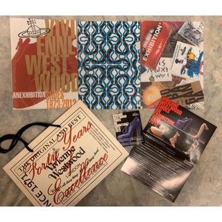 ヴィヴィアンウエストウッド(Vivienne Westwood)のヴィヴィアンウエストウッド シューズエキシビション クリアファイル バッグ付(その他)